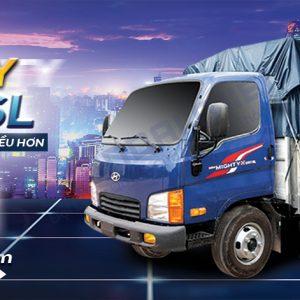 Hyundai N250SL - Xe tải 2.5T thùng dài 4.3m
